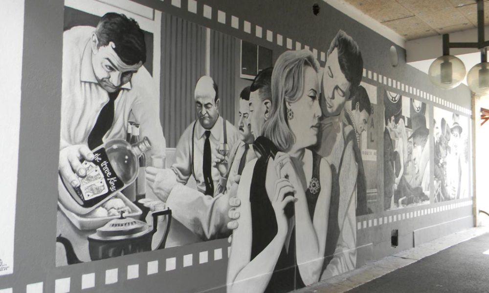 Fresque des Variétés - Saint-Claude
